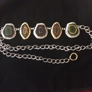 Accessories - Geode chain link belt